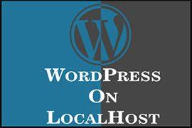 نصب وردپرس در لوکال هاست Localhost